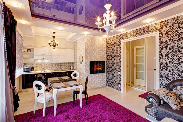 3-комнатная квартира посуточно в Львове. Железнодорожный район, ул. Городоцкая, 76. Фото 1