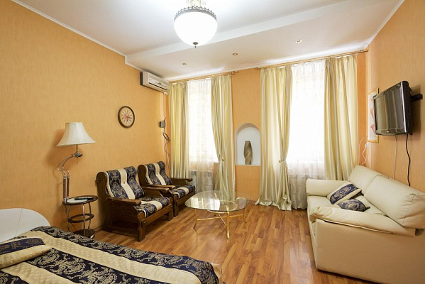 1-комнатная квартира посуточно в Одессе. Приморский район, Одесса, Одесса, Воронцовский переулок ,, 3, 3. Фото 1