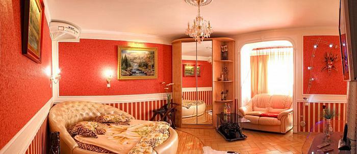 1-комнатная квартира посуточно в Севастополе. Ленинский район, ул. Советская, 8. Фото 1