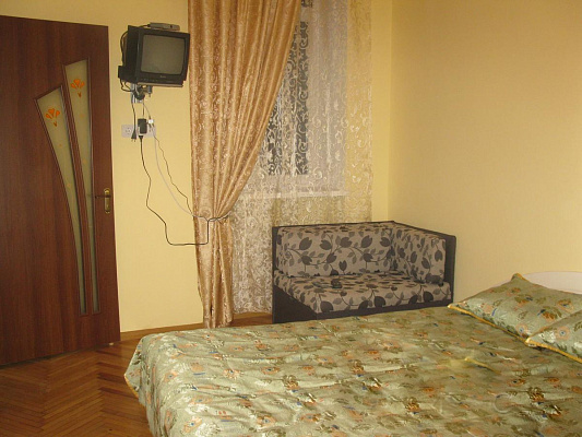 1-комнатная квартира посуточно в Львове. Галицкий район, ул. Джерельная, 2. Фото 1
