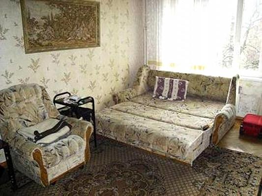 1-комнатная квартира посуточно в Луганске. Октябрьский  район, Луганск, Луганск, квартал Солнечный,, 4, 4. Фото 1