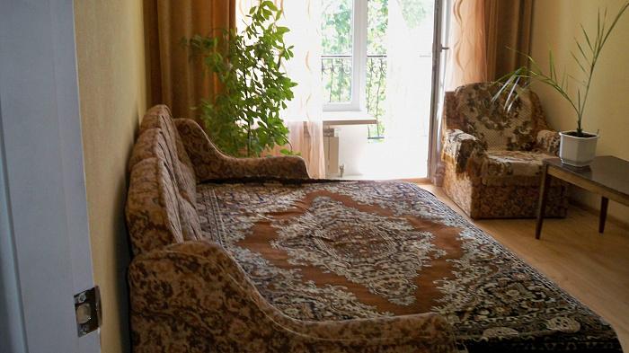 1-комнатная квартира посуточно в Бердянске. Лиепайская, 14. Фото 1