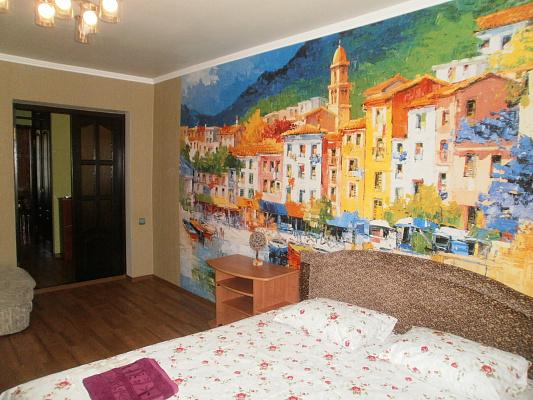 1-комнатная квартира посуточно в Чернигове. Деснянский район, ул. Пятницкая, 23. Фото 1