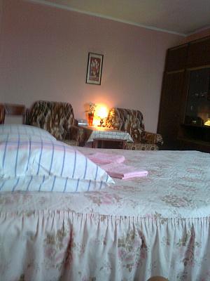 1-комнатная квартира посуточно в Киеве. Дарницкий район, Новодарницкая, 6. Фото 1