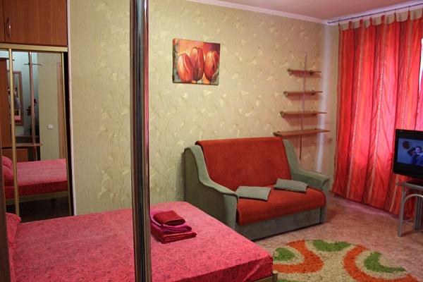 1-комнатная квартира посуточно в Донецке. Ворошиловский район, пр-т Комсомольский, 4. Фото 1