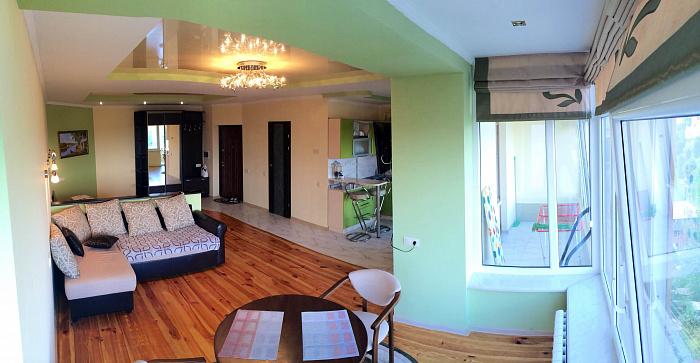 1-комнатная квартира посуточно в Трускавце. ул. Саломеи Крушельницкой, 8. Фото 1