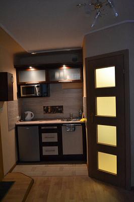 1-комнатная квартира посуточно в Львове. Железнодорожный район, ул. Марка Вовчка, 8. Фото 1