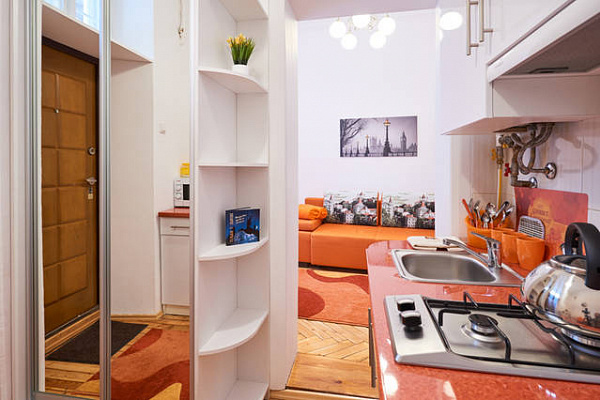 1-комнатная квартира посуточно в Львове. Лычаковский район, ул. Песочная, 1. Фото 1