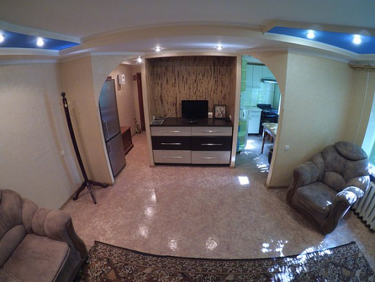 1-комнатная квартира посуточно в Краматорске. ул. Дворцовая, 29. Фото 1