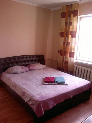1-комнатная квартира посуточно в Донецке. Ворошиловский район, ул. Челюскинцев, 121. Фото 1