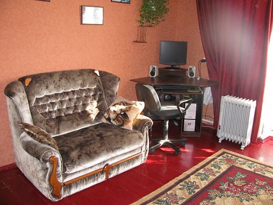 1-комнатная квартира посуточно в Севастополе. Нахимовский район, ул. Софьи Перовской, 1. Фото 1