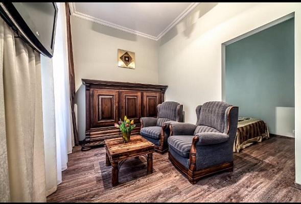 1-комнатная квартира посуточно в Львове. Галицкий район, ул. Таманская, 7. Фото 1