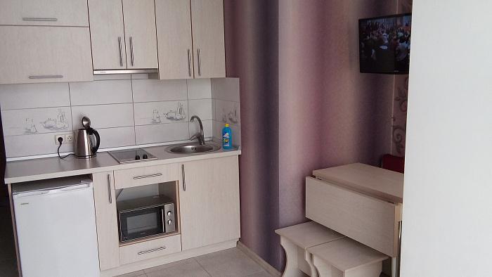 1-комнатная квартира посуточно в Симеизе. ул. Красномаякская, 18Е. Фото 1