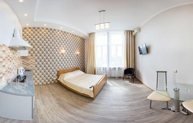1-комнатная квартира посуточно в Харькове. Краснозаводской район, наб. Красношкольная, 26. Фото 1