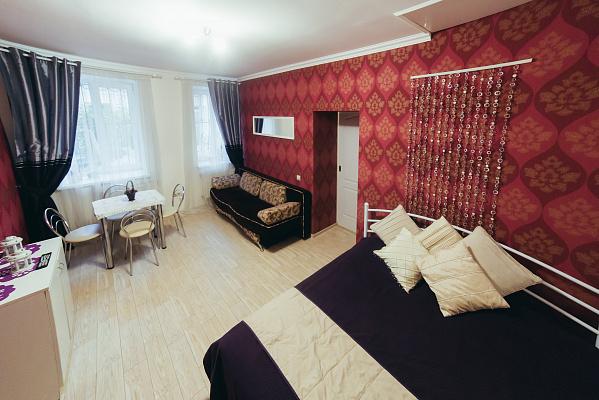 1-комнатная квартира посуточно в Львове. Лычаковский район, ул. Лычаковская, 10. Фото 1