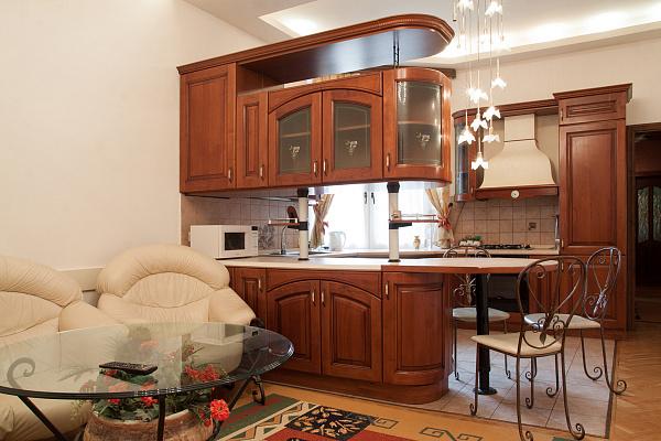 2-комнатная квартира посуточно в Львове. Галицкий район, ул. Коцюбинского, 19. Фото 1