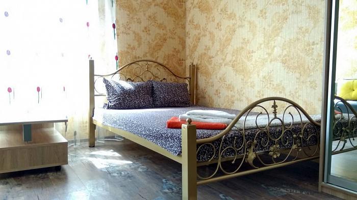 1-комнатная квартира посуточно в Одессе. Приморский район, ул. Среднефонтанская, 19-Б. Фото 1
