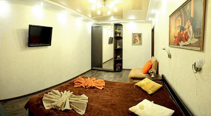 1-комнатная квартира посуточно в Севастополе. Ленинский район, ул. Мичурина, 12. Фото 1