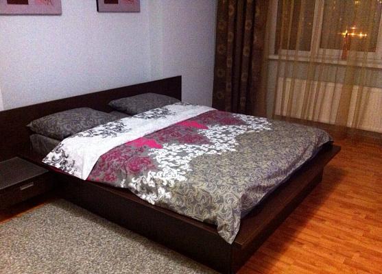 1-комнатная квартира посуточно в Киеве. Дарницкий район, ул. Александра Мишуги, 10. Фото 1