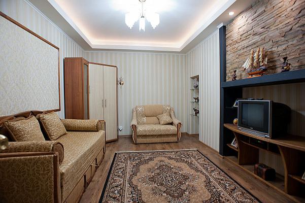 1-комнатная квартира посуточно в Львове. Галицкий район, ул. Пантелеймона Кулиша, 5. Фото 1