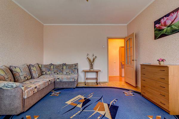 1-комнатная квартира посуточно в Днепропетровске. Бабушкинский район, ул. Гопнер, 1. Фото 1