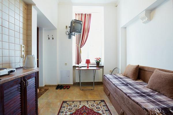 1-комнатная квартира посуточно в Львове. Лычаковский район, ул. Пекарская, 38. Фото 1