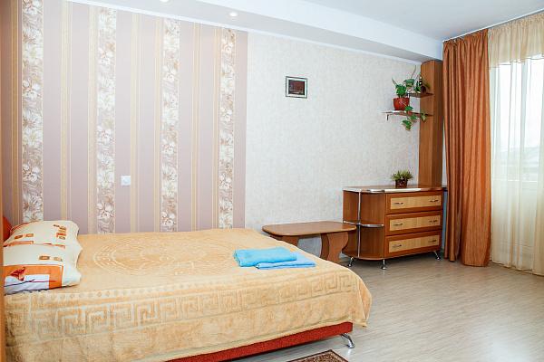 1-комнатная квартира посуточно в Симферополе. Центральный район, ул. Самокиша, 14. Фото 1