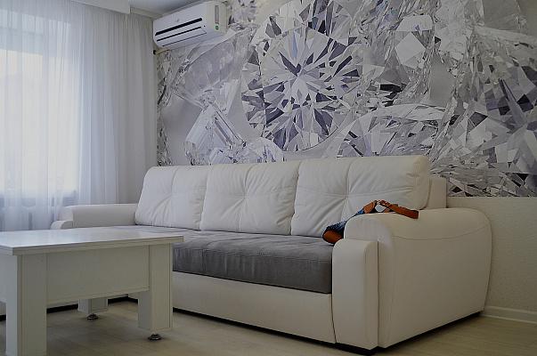 2-комнатная квартира посуточно в Запорожье. Жовтневый район, пр-т Соборный, 144. Фото 1