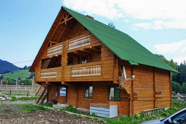 Дом  посуточно в Полянице. вул. Карпатська, 73-Б. Фото 1