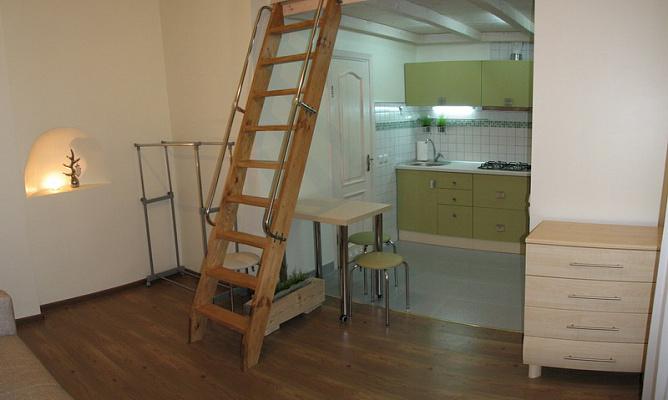 1-комнатная квартира посуточно в Львове. Галицкий район, ул. Братьев Рогатинцев. Фото 1