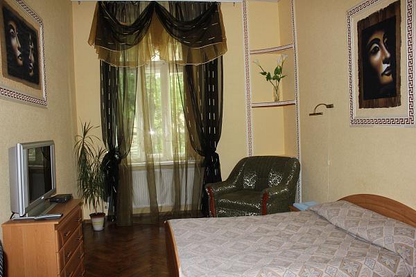 1-комнатная квартира посуточно в Львове. Шевченковский район, ул. Хорватская, 8. Фото 1