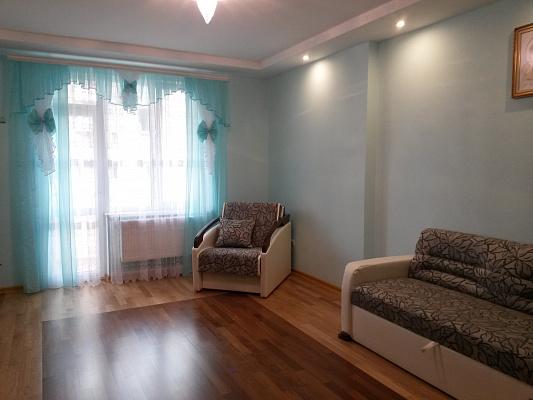 1-комнатная квартира посуточно в Львове. Сыховский район, пр-т Красной Калины, 72. Фото 1