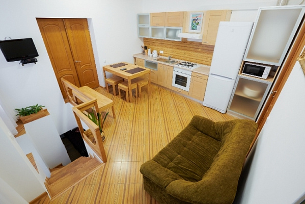 2-комнатная квартира посуточно в Львове. Лычаковский район, римлянина , 6. Фото 1