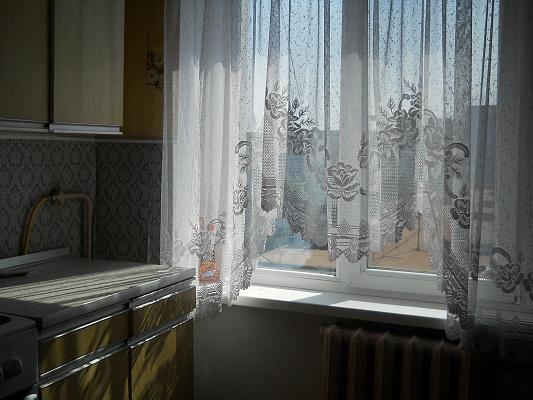 1-комнатная квартира посуточно в Мариуполе. Центральный район, пр-т Металлургов, 47. Фото 1