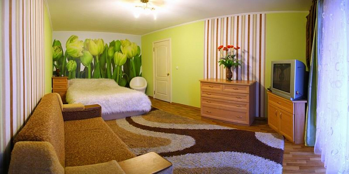 1-комнатная квартира посуточно в Николаеве. Центральный район, ул. Соборная, 13. Фото 1