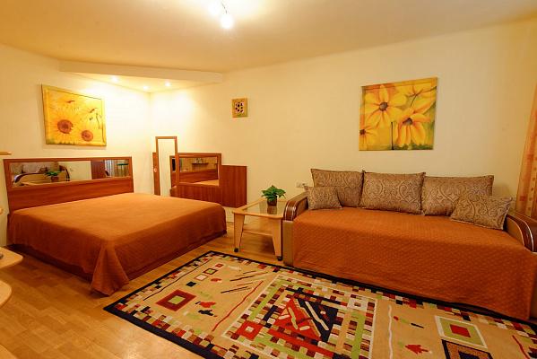 1-комнатная квартира посуточно в Херсоне. Суворовский район, пер. Пугачева, 5а. Фото 1