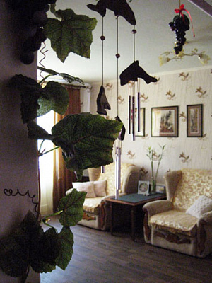 1-комнатная квартира посуточно в Феодосии. Земская, 18. Фото 1