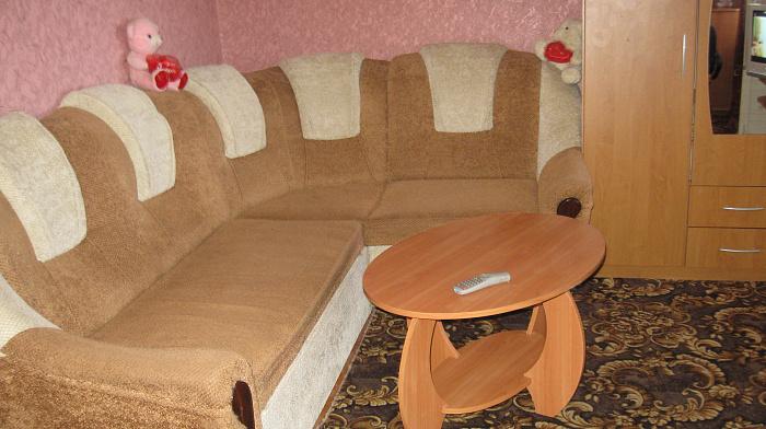 1-комнатная квартира посуточно в Евпатории. ул. Полупанова, 42. Фото 1