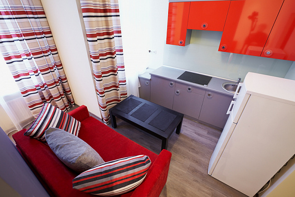 1-комнатная квартира посуточно в Львове. Франковский район, ул. Федьковича, 33. Фото 1