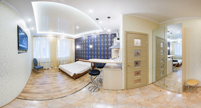 1-комнатная квартира посуточно в Харькове. Киевский район, ул. Лермонтовская, 18-А. Фото 1
