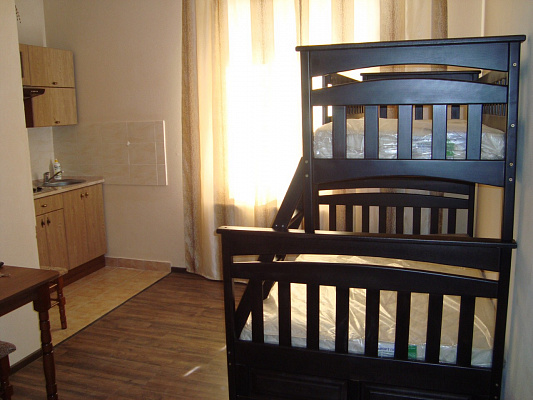 3-комнатная квартира посуточно в Львове. Железнодорожный район, ул. Железнодорожная, 7б. Фото 1