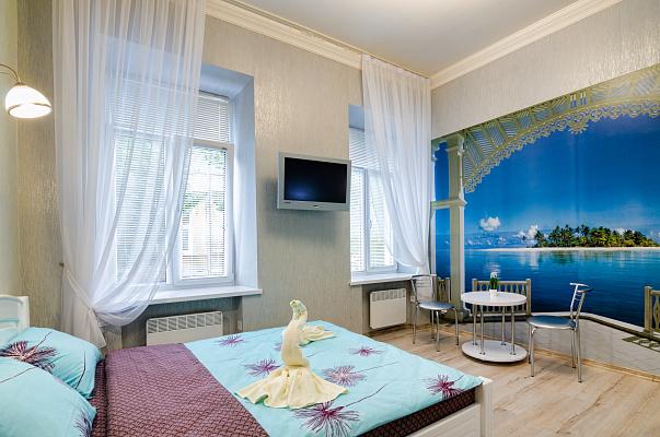 1-комнатная квартира посуточно в Львове. Лычаковский район, ул. Костя Левицкого, 3. Фото 1