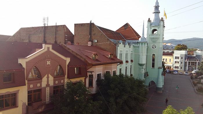 1-комнатная квартира посуточно в Мукачево. ул. Пушкина, 3. Фото 1