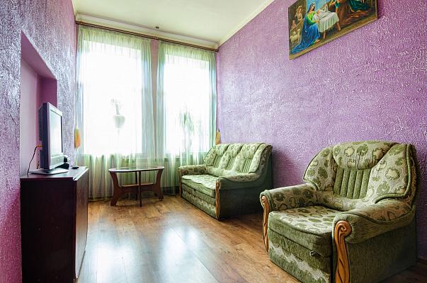 1-комнатная квартира посуточно в Львове. Шевченковский район, ул. Джерельная, 33. Фото 1