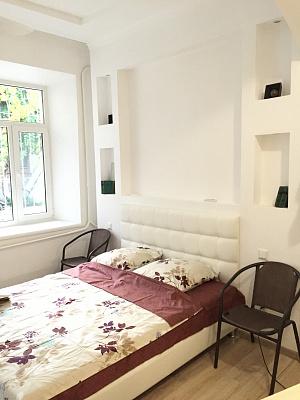1-комнатная квартира посуточно в Одессе. Приморский район, ул. Греческая, 14. Фото 1