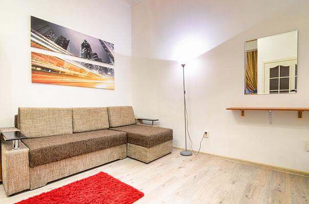 1-комнатная квартира посуточно в Львове. Галицкий район, ул. Модеста Менцинского, 3. Фото 1