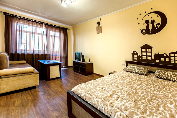 1-комнатная квартира посуточно в Одессе. Приморский район, б-р Французский, 22. Фото 1