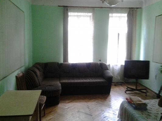 1-комнатная квартира посуточно в Львове. Галицкий район, ул. Меретина, 4. Фото 1