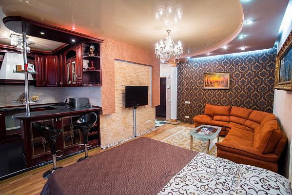 1-комнатная квартира посуточно в Днепропетровске. Кировский район, ул. Старокозацкая, 74-В. Фото 1