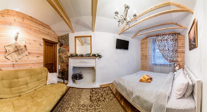 1-комнатная квартира посуточно в Львове. Галицкий район, ул. Краковская, 34. Фото 1